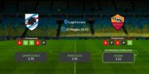 Consigli per Sampdoria vs Roma: giovedi 02 maggio 2021 - Serie A