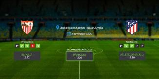 Consigli per Siviglia - Atletico Madrid: sabato 02 novembre 2019 - La Liga