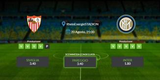 Consigli per Siviglia - Inter: 21 agosto 2020 - Europa League